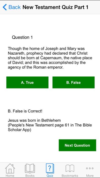 Bible Scholar Interactive screenshot-3