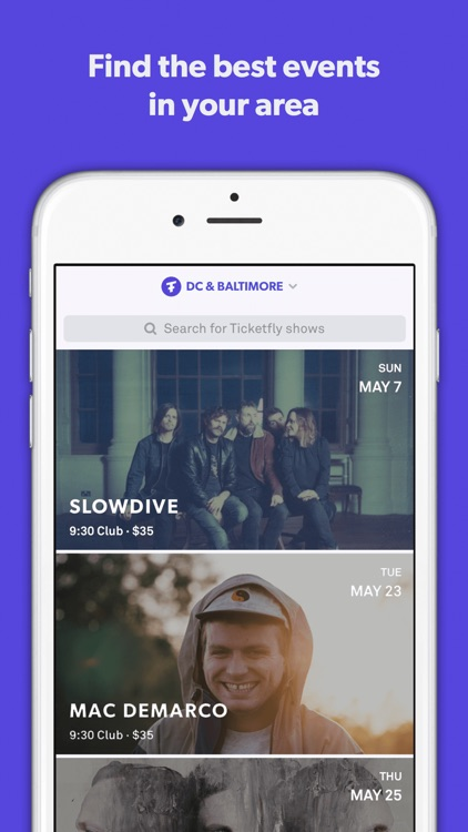 Ticketfly - Buy tickets for live events near you
