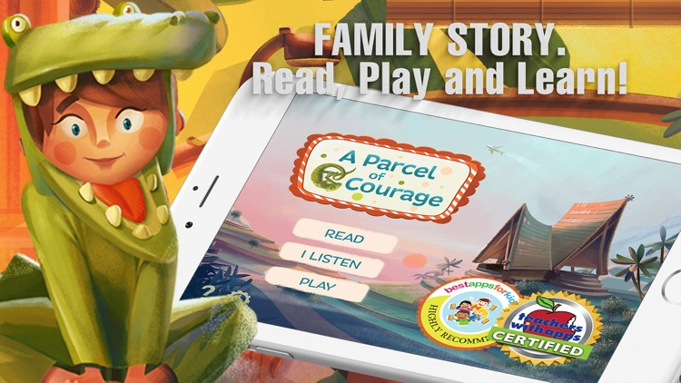 A Parcel of Courage free interactive book for kids