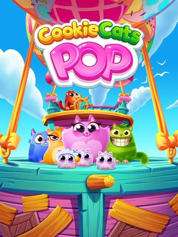 Игра Cookie Cats Pop
