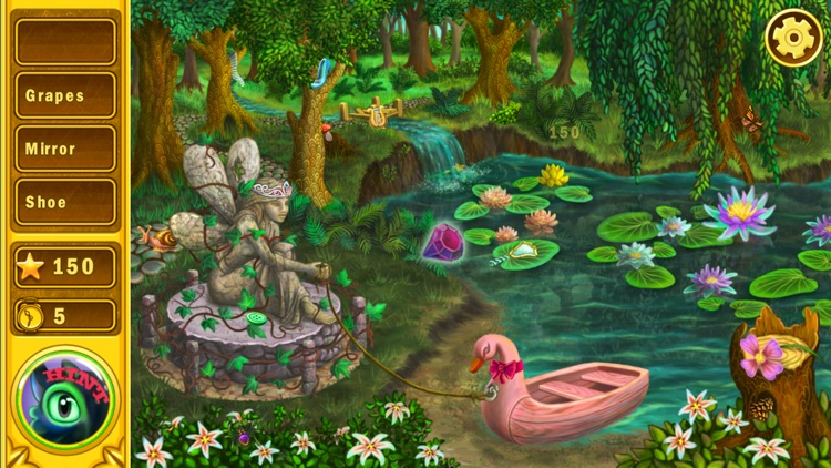 Hidden Object Garden: Find and Spot the difference