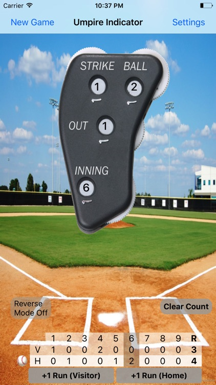 Umpire Indicator Pro screenshot-1