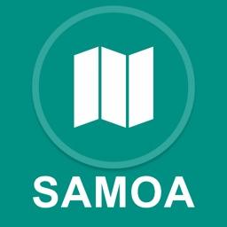 Samoa : Offline GPS Navigation