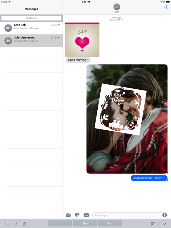 Love Card - Beautiful Lovely Card Stickers screenshot 7