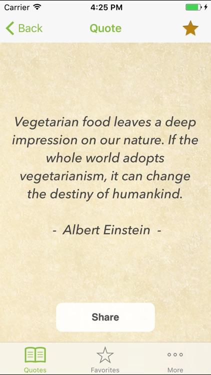 Vegetarian & Vegan Quotes for vegetarian living