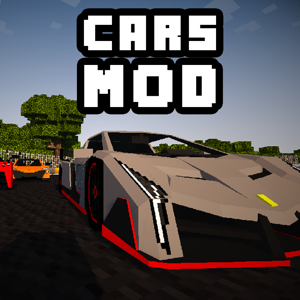 CARS MOD FOR MINECRAFT PC GAME app
