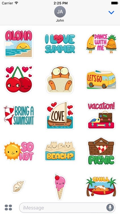 Summer Fun Sticker