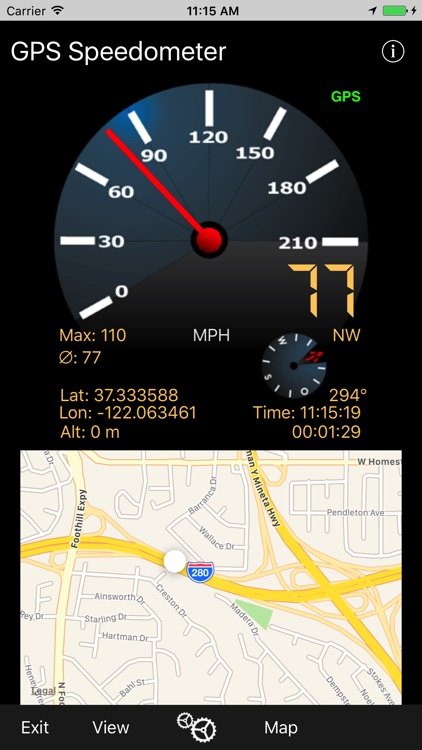 GPS-Speedometer screenshot-1