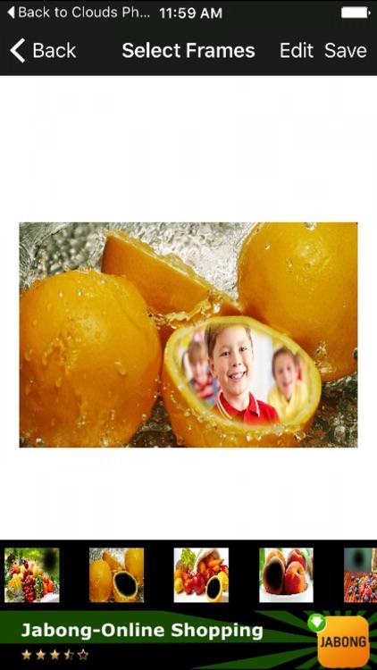 Fruits Picture Frames Online Selfies Photo Editor by Mahendra Kumar Jain