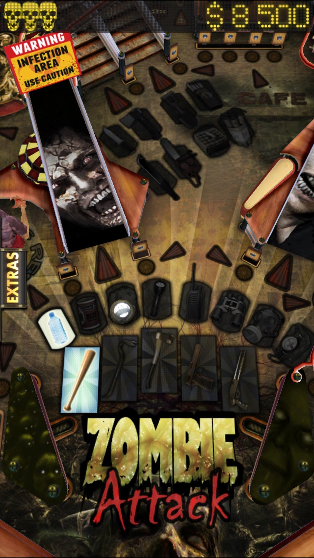 Zombie Attack Pinball HD: Monster Challenge