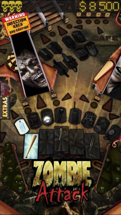 Zombie Attack Pinball HD: Monster Challenge screenshot one