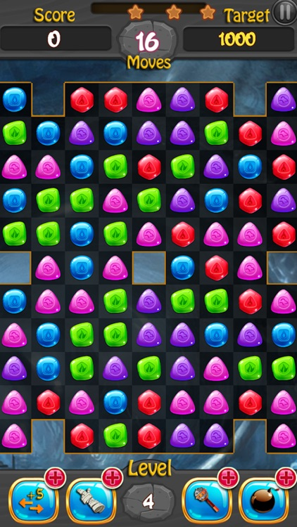 Jewels and Gems Match 3 Game screenshot-4