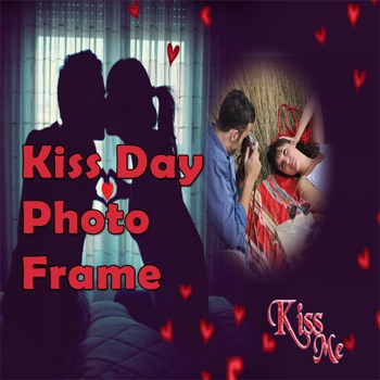 Kiss Day Free Photo Frame Editor For Wishes