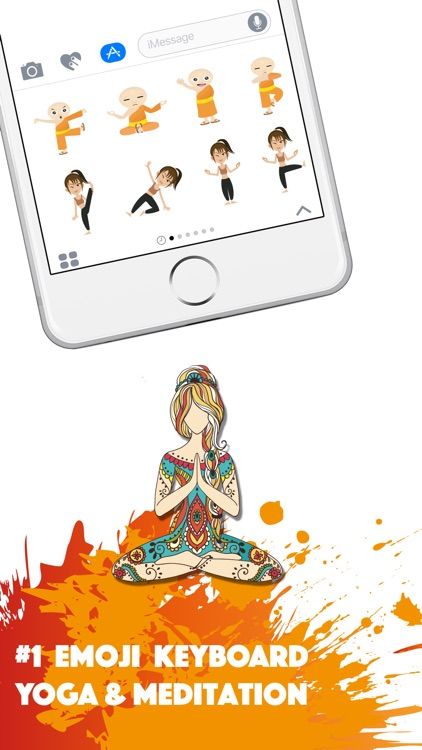 YOGAMOJI - Yoga Emojis & Stickers Keyboard