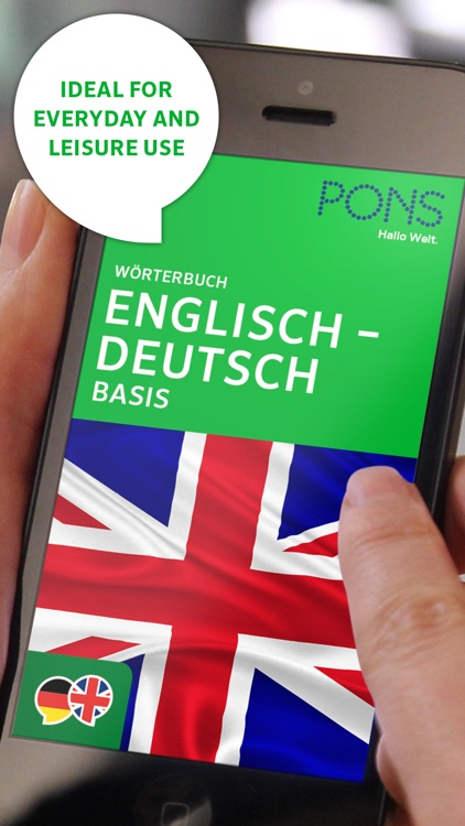 Dictionary German - English BASIC by PONS