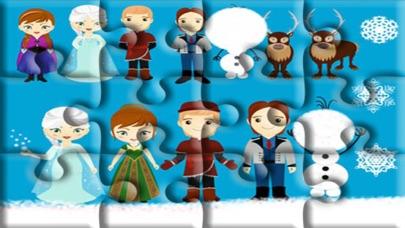 little princess education games jigsaw screenshot two