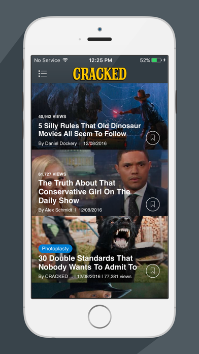 Screenshot 0 for Cracked's iPhone app'
