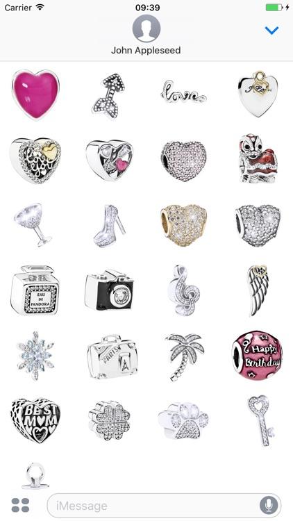Pandora Jewellery Stickers