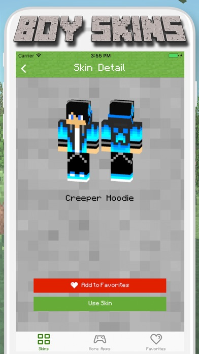 Boy Skins For Minecraft PE MCPE Skins Free App IOS Apps Info - Minecraft skins fur ipod