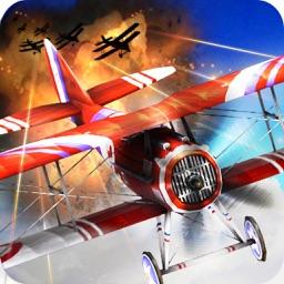 WW1 蒼空のエース: 3Dアクション、飛行シューティングゲーム