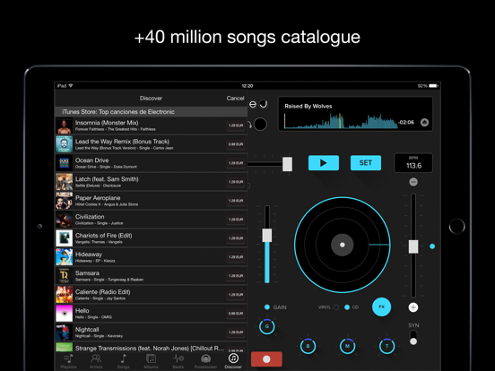 deej - DJ turntable. Mix, record & share your music screenshot