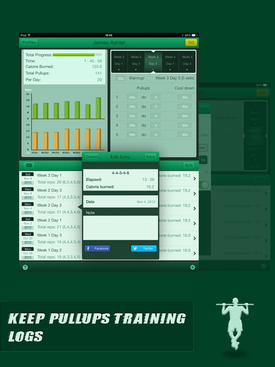 Pullups Coach for iPad - Do Twenty Pull Ups screenshot-3