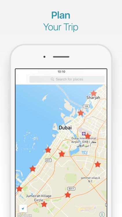 Dubai Travel Guide and Offline Map