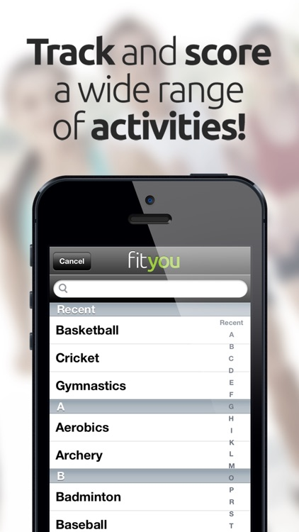 FitYou - Fitness Game and Activity Tracker screenshot-4