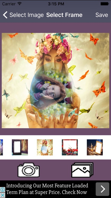 Fantasy Frames For Your Photo And Pic Collage