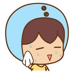 Sweating Animals Animated Emoji Stickers