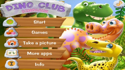 DinoClub. World of Dinosaurs screenshot one