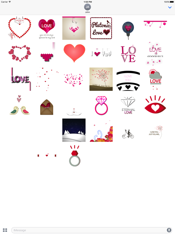Lovely Animated Stickers screenshot 8