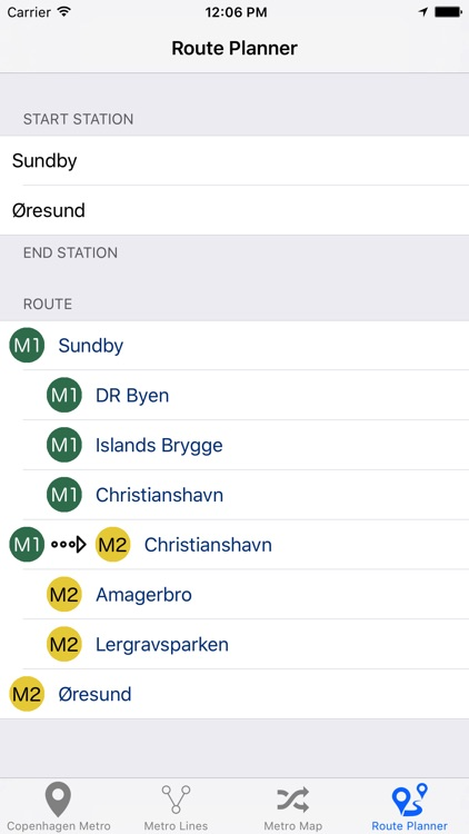Copenhagen Metro & Subway screenshot-1