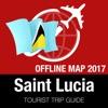 圣卢西亚 旅游指南+离线地图