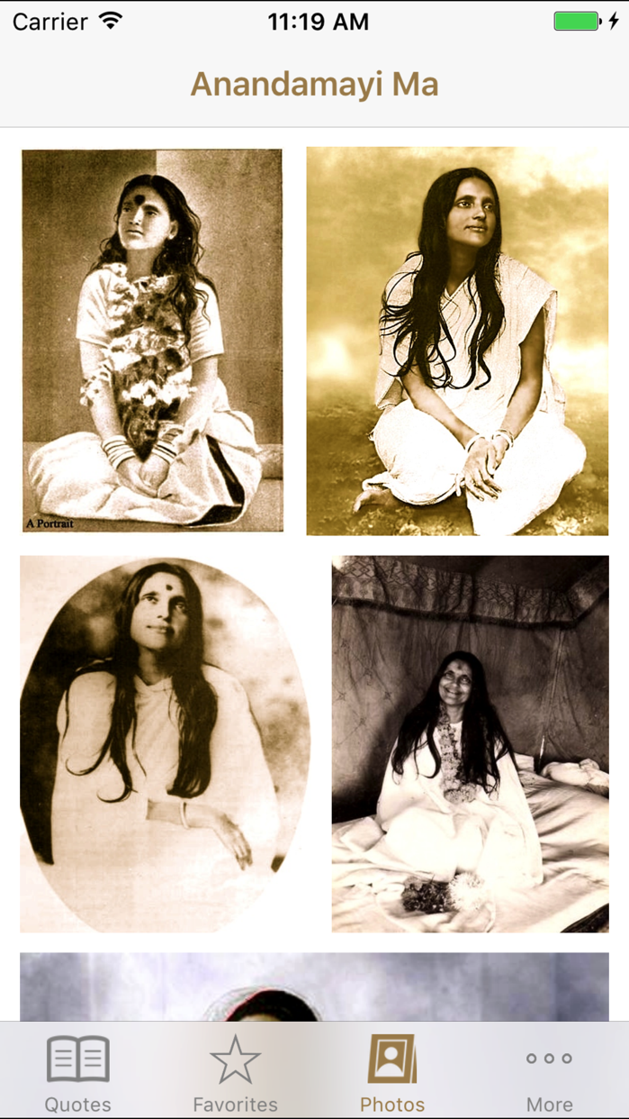 Anandamayi Ma Quotes Screenshot
