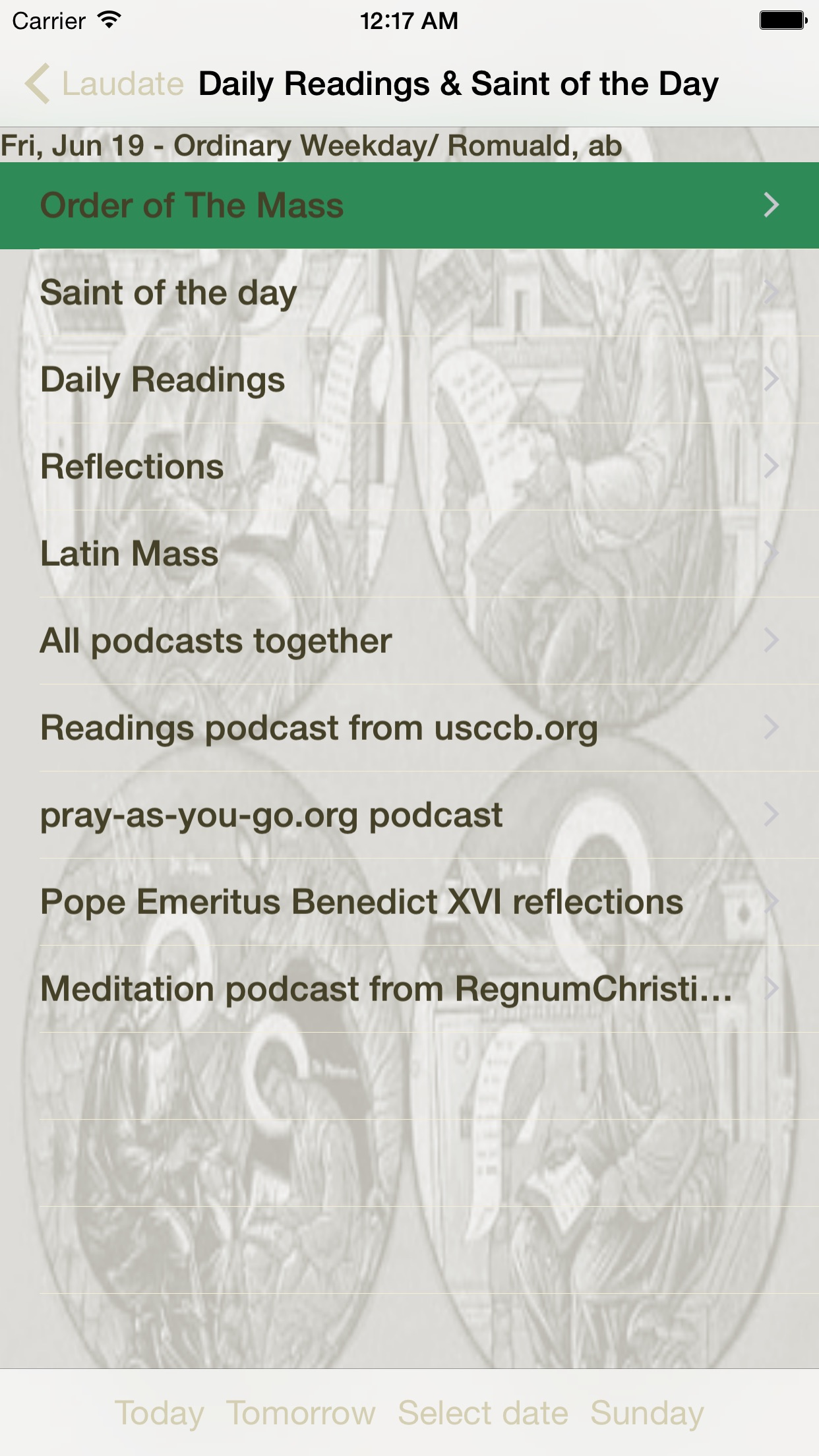 Laudate - #1 Catholic App Screenshot