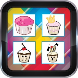 Cupcake Memory Games For Kids