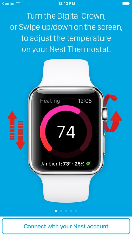 Thermo Watch for Nest Thermostat®