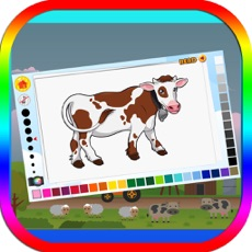 Activities of Farmland Coloring Book for Kids