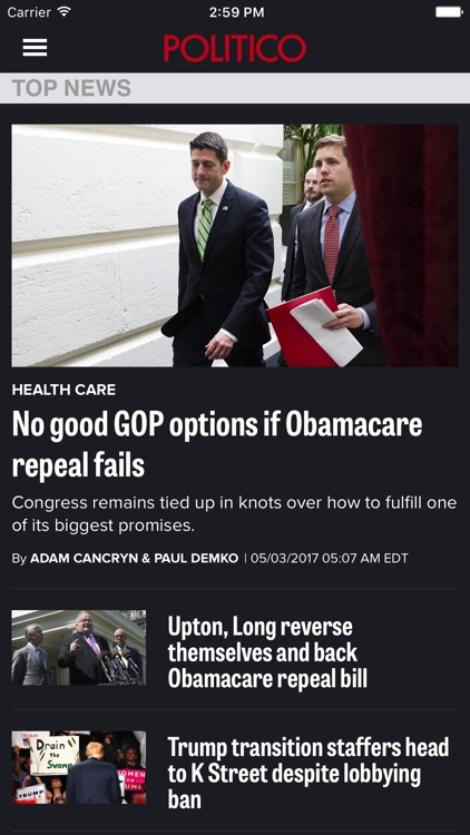 POLITICO screenshot-0