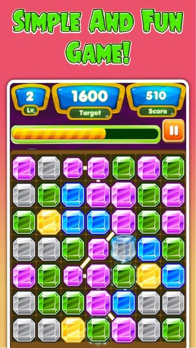 Gems Adventure - Connect Gems Dash Puzzle screenshot two