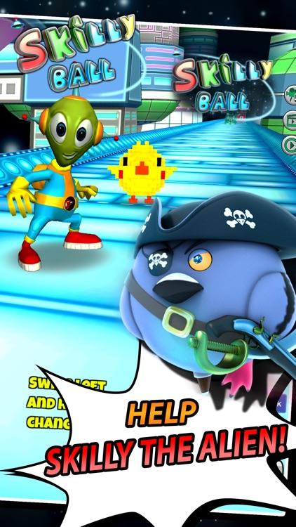 Skilly Ball - Endless Runner Roller