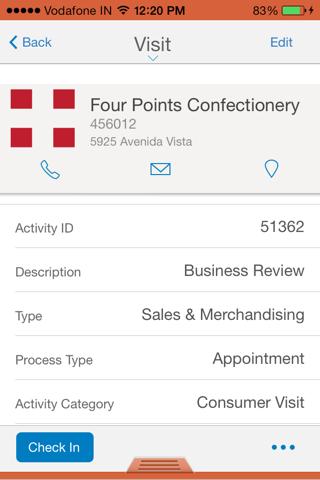 SAP Retail Execution V3.4 - náhled