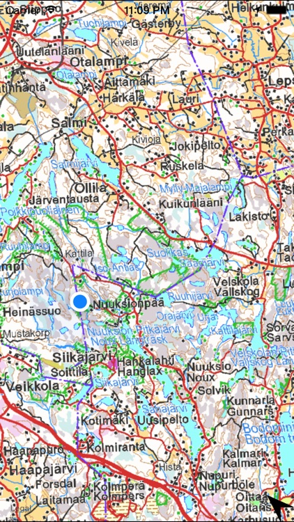 Map of Finland screenshot-4