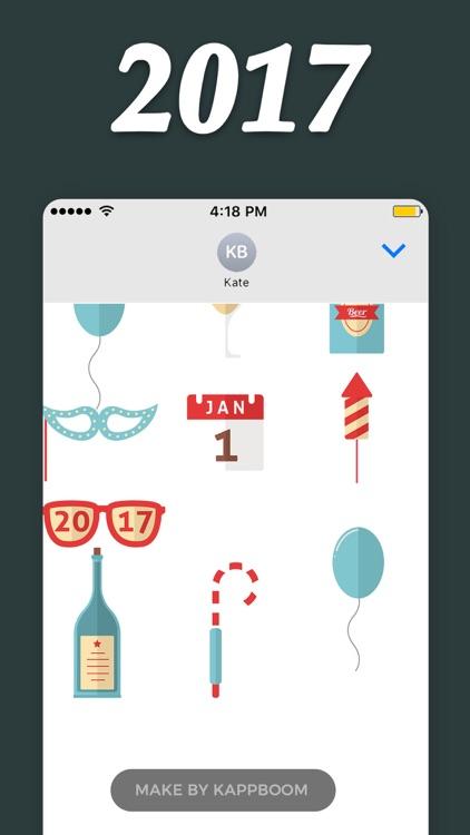 2017 Stickers by Kappboom screenshot-3