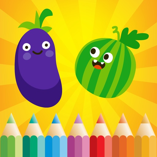 Vegetable Coloring Book for Kids: Learn to color