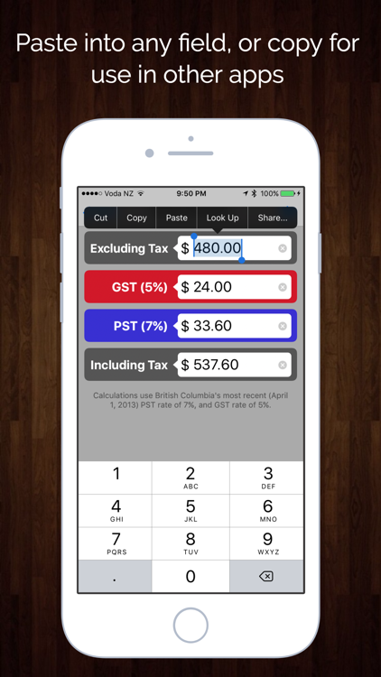 Hst Tax Calculator >> Canada Sales Tax Calculator Gst Hst Pst Qst Ios