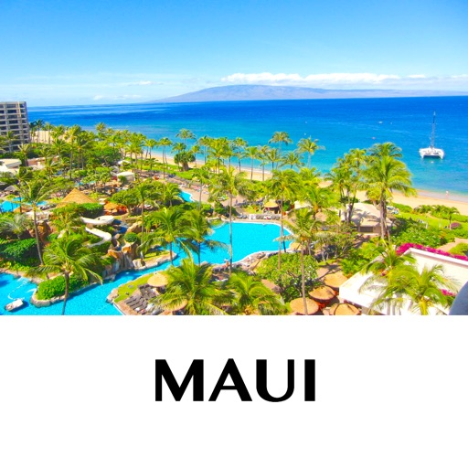 Maui - holiday offline travel map
