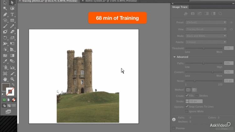 Illustrator CS6 Trace & Paint screenshot-4