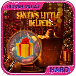 Hidden Object Games Santa's Little Helper